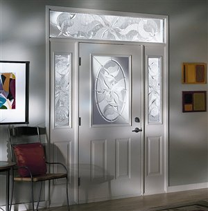 Insulated steel and fibreglass doors 2