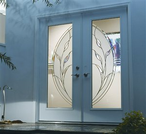 Insulated steel and fibreglass doors 4